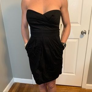 Dresses & Skirts - NWT Black strapless WITH POCKETS!!